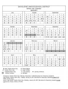 District Calendar