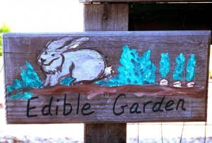 School Garden Sign